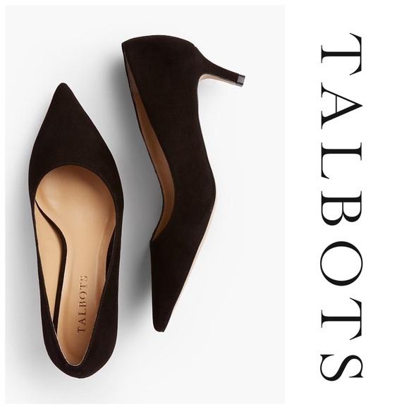 e4261d3cf92 Talbots Erica suede kitten heel pumps - NWOT. M 5af49946a6e3ea11c160b3f1